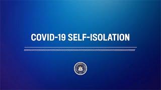 Dr. Dunn – COVID-19 Self-Isolation