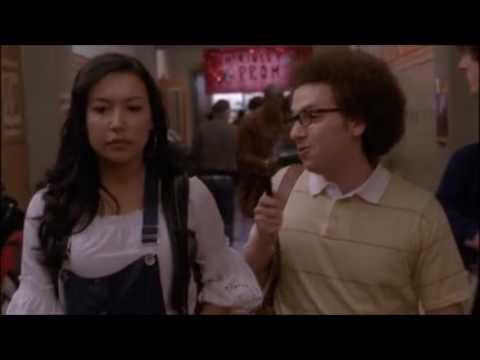 Glee   Jacob Interviews Santana About Karofsky 2x19