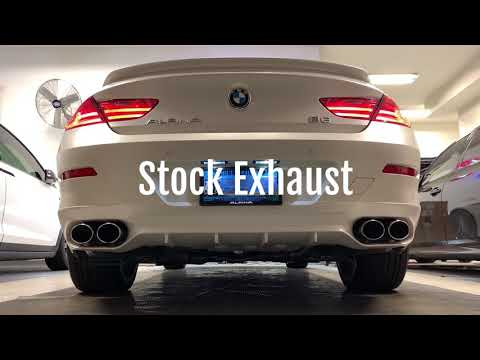 Alpina B6 Gran Coupe - Stock Exhaust Vs Eisenmann Race Exhaust