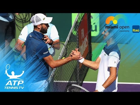 Djokovic, Paire Hawk-Eye challenge mix-up | Miami Open 2018
