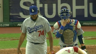 Kenley Jansen is named NL Reliever of the Month