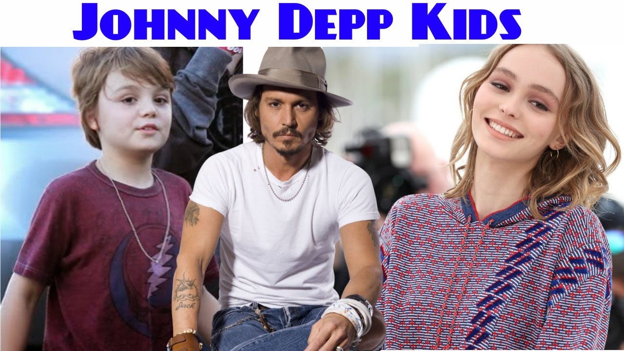 Johnny Depp Kids 2017 - YouTube