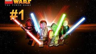 LEGO Star Wars Complete Saga - Бравые Джедаи - 1 Серия