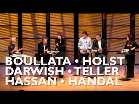 Hanne-Vibeke Holst * Yahya Hassan * Janne Teller * Nathalie Handal * Najwan Darwish * Kamal Boullata