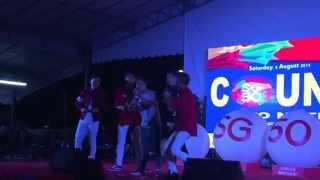 Ah Boys @ Keat Hong(CCK) NDP Celebration Part 1 - 08082015 (Weiliang Tosh Maxi Bunz Joshua)