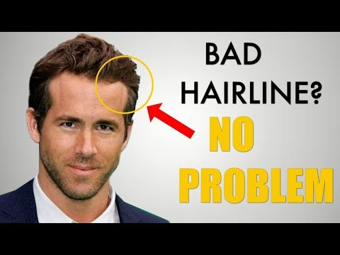 5 Awesome Hairstyles for Widows Peak / Receding Hairline