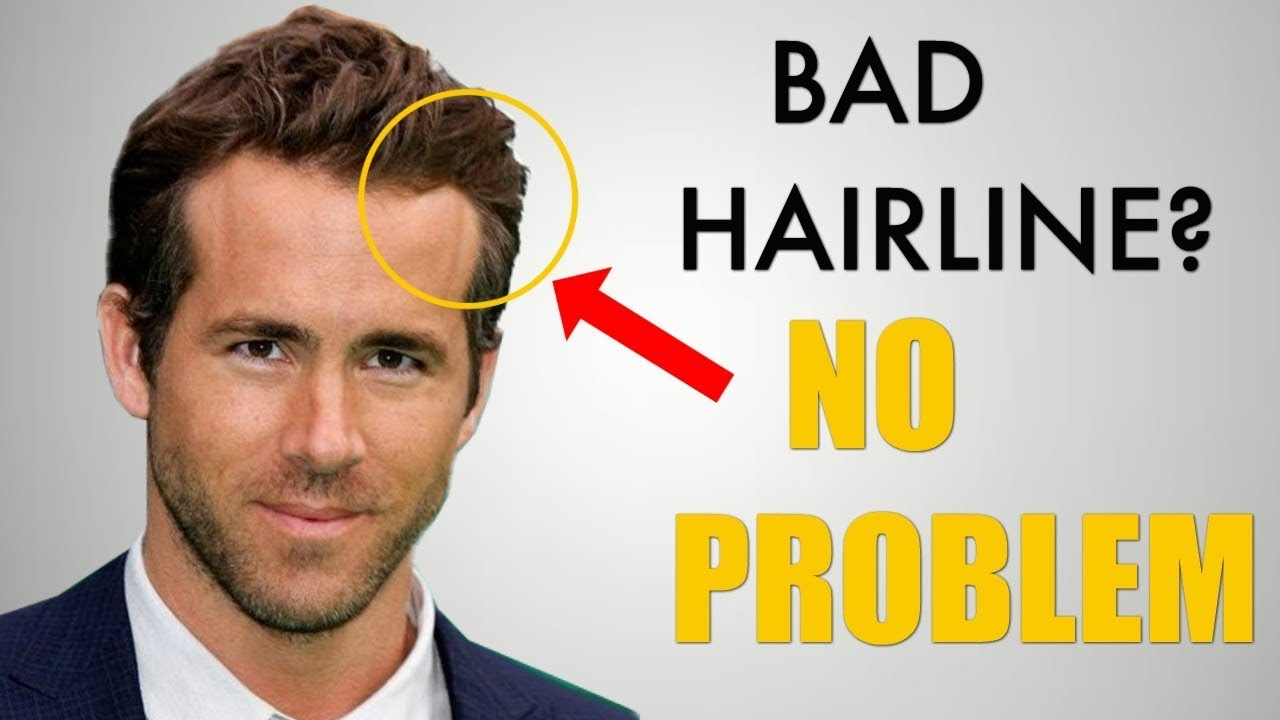 5 Awesome Hairstyles for Widows Peak / Receding Hairline - YouTube