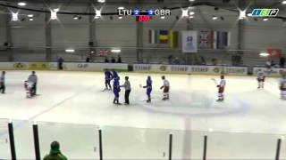 Hockey Player Throws a Stick at Referee