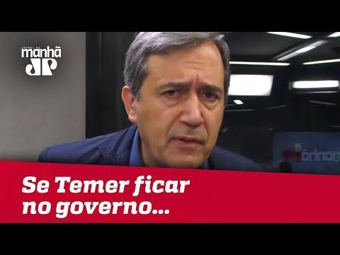 Se Temer ficar no governo, como serão os próximos meses? | Marco Antonio Villa