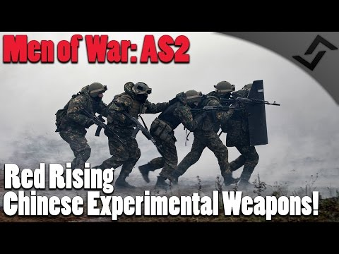 Men of War: Assault Squad 2 - Red Rising - Chinese Prototype Weapons?!