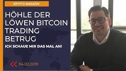 Höhle der Löwen  Bitcoin Trading Betrug