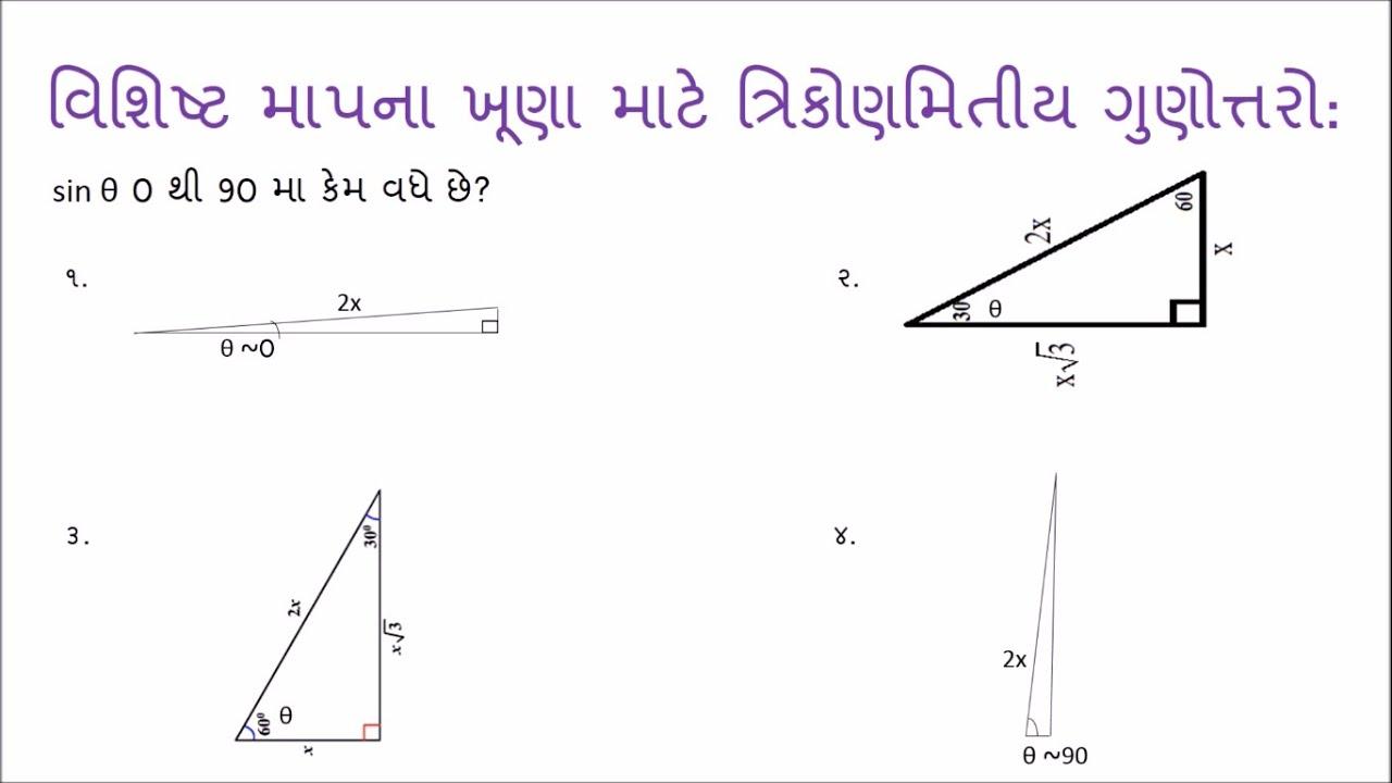 trigonometry gujarati maths youtube trigonometry gujarati maths ccuart Images