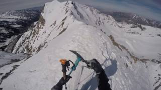Skiing the South Face of Mount Superior Alta, Utah