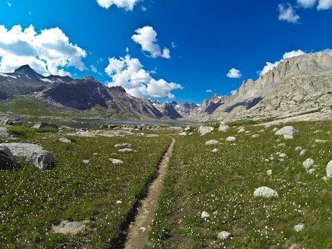 Wind River Range Wyoming Backpack Trip 2014