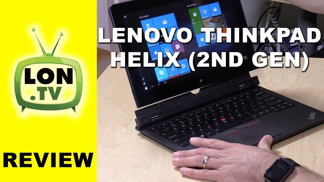 Lenovo Thinkpad Helix 2nd Generation Review (2015) - Hybrid Core-M based  tablet/laptop