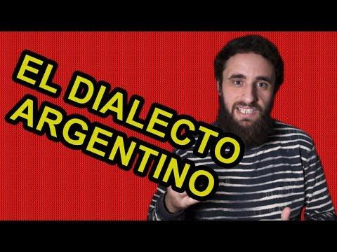 EL DIALECTO ARGENTINO Y EL GRINGO