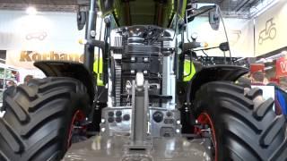 Ciągniki rolnicze i kombajny CLAAS na targach AGROTECH Kielce 2016