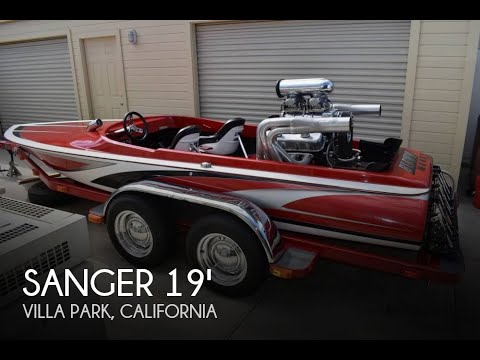Used 1972 Sanger Bubble Deck Flat Bottom 19 for sale in Villa Park, California