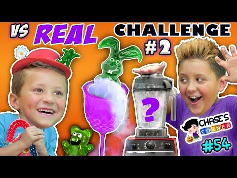 Chase's Corner: GUMMY vs REAL Halloween Edition (#54) | DOH MUCH FUN