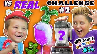 Chase s Corner GUMMY vs REAL Halloween Edition 54 DOH MUCH FUN