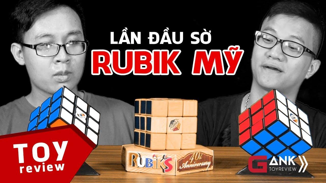 [Gank Toyreview] Lần đầu sờ vào Rubik Mỹ   Siêu vất vả   Rubik Review