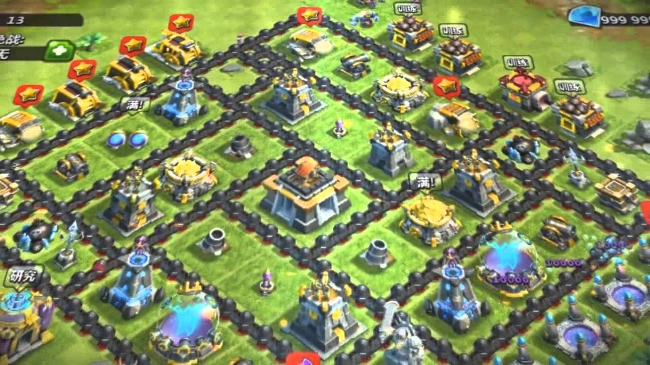 clash of clans upgrade list pdf