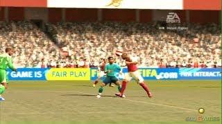 Fifa 07 - Gameplay Xbox (Xbox Classic)