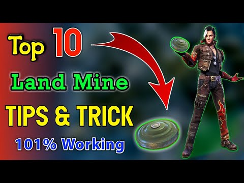 TOP 10 PRO {LAND MINE} Tips & Trick || 101% WORKING - SINGLE GAMING