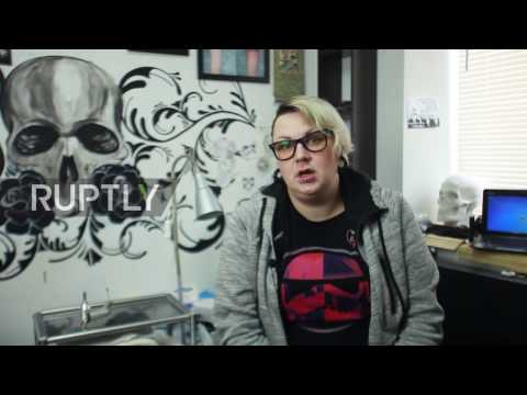 Russia: Healing wounds with free tattoos – Ufa tattooist helps abuse victims