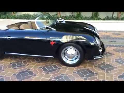1958 Porsche Speedster Replica.  For Sale At Celebrity Cars Las Vegas.