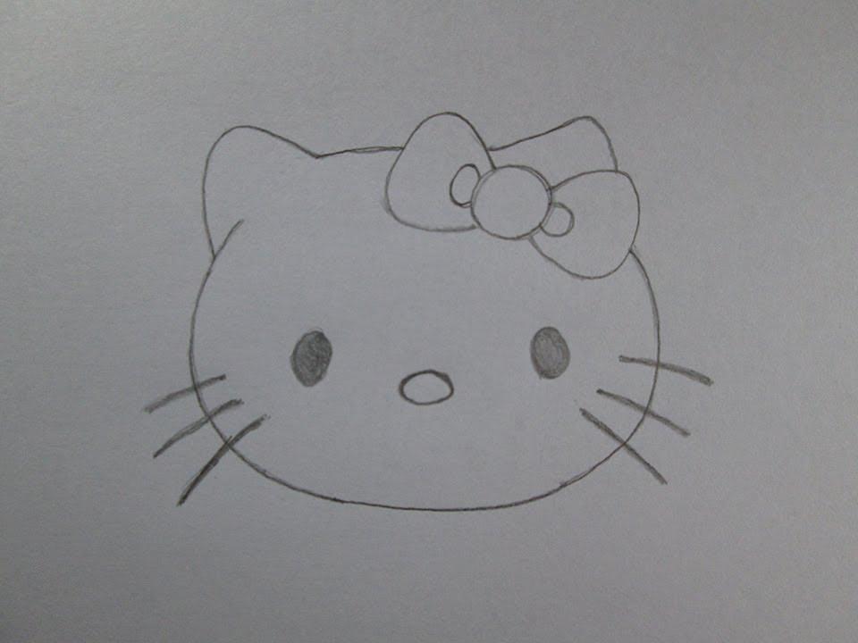 Cmo dibujar Hello Kitty  YouTube