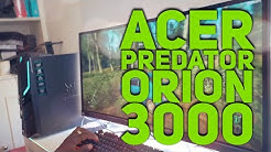 Acer Predator Orion 3000 Unboxing and Gaming