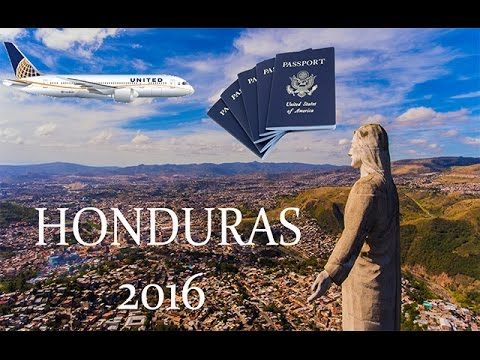 Travel video to Honduras(Tegucigalpa)