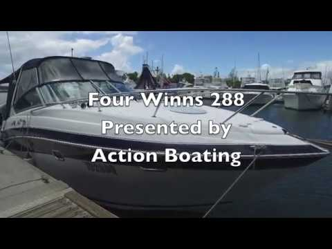 Four Winns 288 for sale, Action Boating, boat sales, Gold Coast, Queensland, Australia
