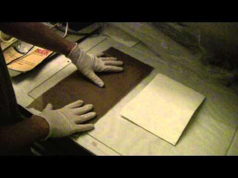 Step 9 Sensitizing the Albumen paper Part 1