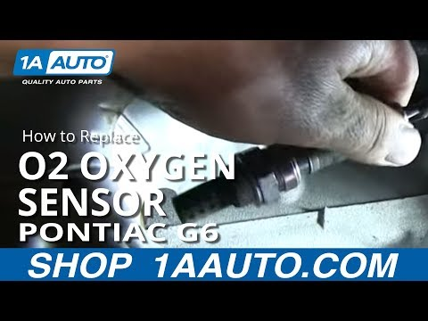 How to Replace O2 Oxygen Sensor 06-10 Pontiac G6 | 1A Auto  Wire O Sensor Wiring Diagram Denso on