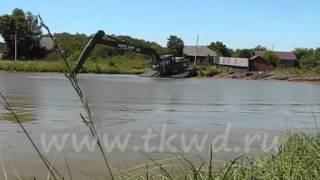 Water King WK 250.wmv(www.tkwd.ru Плавающий экскаватор амфибия благодаря своим уникальным возможностям является незаменимым орудие..., 2011-07-15T07:39:57.000Z)