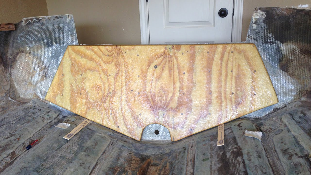 Building The Transom Project Glastron Vlog 8 Youtube