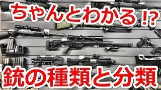 改めて知っておきたい銃の種類、分類の話【NHG】実銃解説