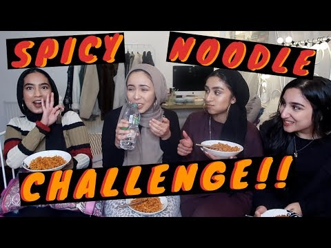 EXTREME SPICY RAMEN NOODLE CHALLENGE !!! *SHE THREW UP*