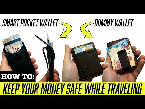 TRAVEL TIPS: How to Keep Your Money Safe While Traveling!