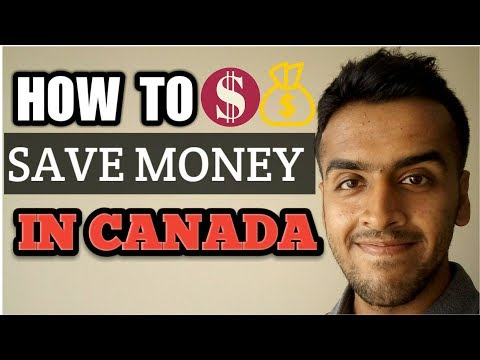 How To Save Money As A Student In Canada