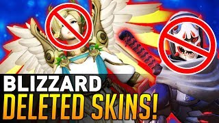 Video Overwatch | Blizzard Deleted These Two Skins! download MP3, 3GP, MP4, WEBM, AVI, FLV September 2017