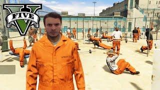 Hapishanede Bir Gün - GTA 5 - Hapishane Modu -OS-OYUN SAFI