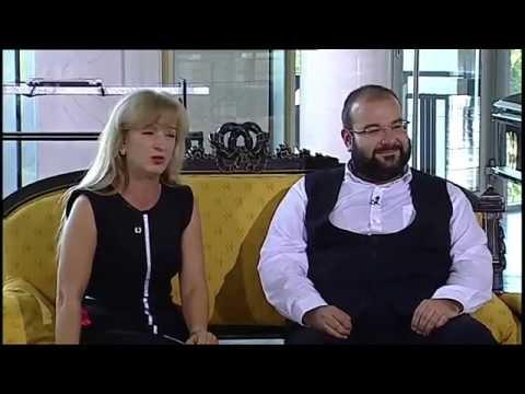 Sandra Pogodová a Václav Tobrman v Dobrém ránu s ČT