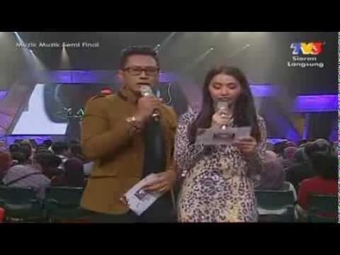 Najwa Latif ft SleeQ - Sahabat (Muzik Muzik Semi Final Ke 28) Minggu 2
