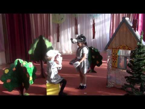 спектакль в средней группе Заюшкина избушка
