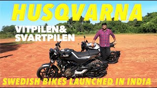 Husqvarna Svartpilen and Vetpilen -250 CC Bikes from Swedish manufacturer | Review by Baiju N Nair