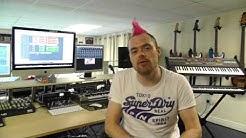 'The HQ Glasgow' recording studio tour