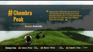 Tourist Places in India  | wayanad Kerala |  Trekking Chembra Peak | Tourism Travel Guide
